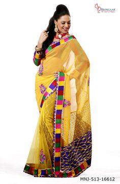 Benarasi sarees are also famous among all Bengalis who love to wear them during wedding ceremonies. http://sringaar.com/buy/latest-saree.aspx