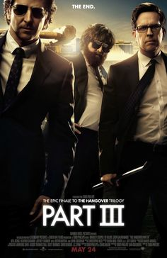 The Hangover Part III - Wolfpack poster