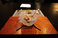 The Amazing Pork Belly Dish from Alinea 7.2010