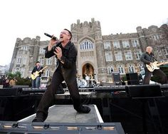 U2 Fordham University. 3-6-09   I was a grad student and got in with my Fordham ID.