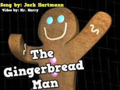 gingerbread man song