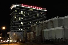 The Potawatomi Hotel and Casino closed for a few hours last Friday when a patron fired a gun in a high-stakes area of the facility.