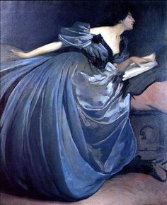 Althea (Blue Dress) 1895 John White Alexander