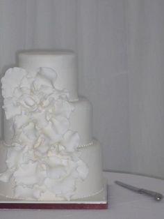white wedding cake perfection