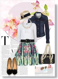 """""""MAKE THE BUTTERFLIES IN YOUR STOMACH FLY IN FORMATION"""" by k-hearts-a on Polyvore"""