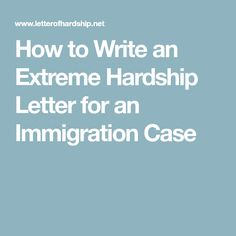 On This Site You Can Get A Helping Hand To Write A Hardship Letter