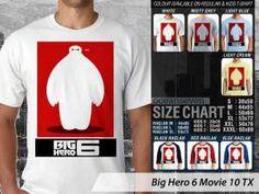 Kaos Big Hero 6 Lucu, Kaos Animasi Big Hero 6, Kaos Big Hero 6 Movie, Kaos Big Hero 6 Limited Edition
