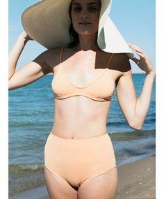 NU SWIM Peach Dia Top Bikini