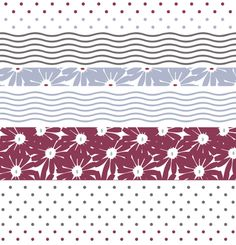 """Daisies and stripes""textile Pattern licensing design © Concetta Lorenzo With TheColorSoup you can choose my Graphics for your Personalized textiles online: find your favorite!"