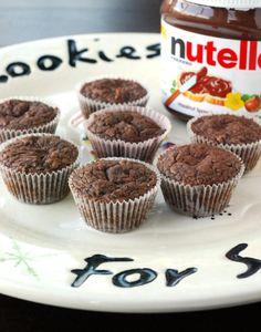 4-ingredients Nutella Brownies