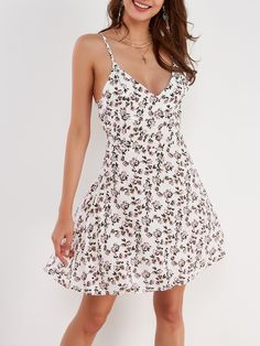 e0f375a9bb8f Here's proof that you wear florals all year long. The dress features a  blossom pink