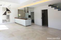 Tile-Sangah's MARNE 75x75 45x90 몽환적인 스타일의 소프트한 무늬를 가진 내추럴한 타일  MARNE - AVORIO  #tile #tiles #sangahtile #design #ksdesign #modern #interior #art #floor #artwall #livingroom #home #상아타일 #인테리어 #모던 #아트월 #디자인 #거실 #수입타일 #거실 #주방 #타일 #타일인테리어  #전원주택