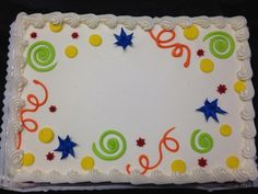 Standard designs available at budget-friendly prices! It's important to us to offer an assortment of designs at affordable prices. Cake Icing, Buttercream Cake, Eat Cake, Cupcake Cakes, Cupcakes, Frosting, Cake Decorating Techniques, Cake Decorating Tips, Cookie Decorating