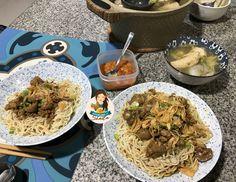 Yamin Ayam Jamur – Cooking with Sheila Main Menu, Grains, Rice, Cooking, Ethnic Recipes, Food, Kitchen, Essen, Meals