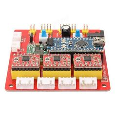 CNC Shield V4 Expansion Board With Nano A4988 For Arduino ...