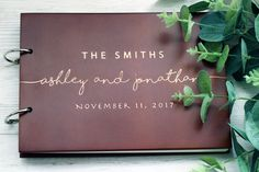 Rustic Guest book Wedding Guest Book Wood GuestBook Wedding