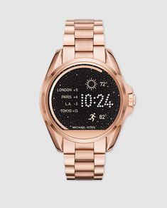 Buy Michael Kors Ladies Access Bradshaw Rose Gold Smartwatch at Hugh Rice  Jewellers. Free delivery on Michael Kors. Rated 5 stars by our customers 8a9d0b0e1f72