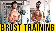 Brust  + Trizeps Training mit Peyman Kashi   Voice Over
