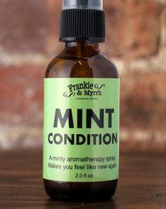 mint condition essential oil spray • frankie & myrrh • $18