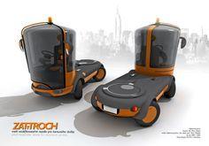 Futuristic Vehicles Design by Peter Chlpek