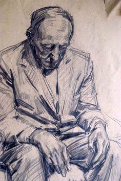 Robert Hannaford (1944 - ) | Hans-oil-1971