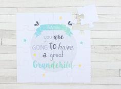 Puzzle - Great Grandchild - Announcement of pregnancy