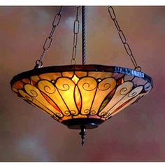 An American Leaded Glass Lamp Diameter Of Shade 18 X Height Overall 23 Inc
