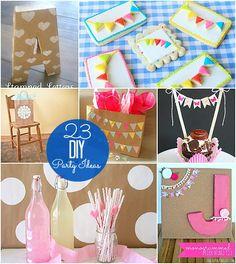 23 diy party ideas