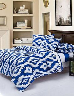 #trend Type:Duvet Cover Sets, Bed Size: #Double, Sizes:Full, Patterns:Stripe, Material:Tencel, Backing Material:Tencel, Color: #Multi Color, Crafts:Reactive Print, ...