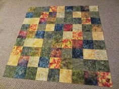 My Patchwork Quilt:  how to make a SUDOKU LAP QUILT