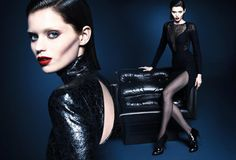 Abbey Lee Kershaw & Adrien Sahores for Gucci Fall Winter 2013.14