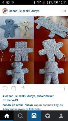 Moist Pumpkin Bread (One Bowl # crochet dolls Knitted dolls - # Dolls . , Moist Pumpkin Bread (One Bowl # crochet dolls Knitted dolls - # Dolls . Baby Knitting Patterns, Teddy Bear Knitting Pattern, Knitting Wool, Double Knitting, Free Knitting, Crochet Patterns, Dress Patterns, Knitted Dolls, Crochet Dolls