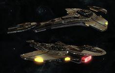 Star Trek Cardassian Galor-Class Cruiser