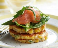 Corn and ricotta fritters recipe | Food To Love