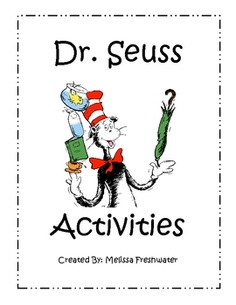 This is a 53 page unit dedicated to Dr. Seuss. There are stamp-a-word activities, sight word game, ABC order, patterns, letter sorting activities, ...