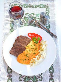 Ínyenc vadas petrezselymes sztrapacskával Risotto, Drink, Ethnic Recipes, Food, Beverage, Essen, Meals, Yemek, Eten