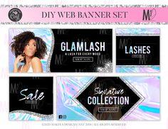 Street Marketing, Guerilla Marketing, Web Banner Design, Web Banners, Design Web, Graphic Design, Eyelash Logo, Makeup Ads, Email Marketing Design