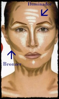 By popular demand, I am excited to share highlighting & contouring makeup tips! Contouring and highlighting are one of the makeup techniques that every makeup addict should master. Airbrush Makeup, Contour Makeup, Skin Makeup, Flawless Makeup, Le Contouring, Contouring And Highlighting, Beauty Make Up, Hair Beauty, Redken Hair Color