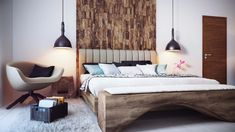 Cozy minimalist bedroom by Alexander Uglyanitsa