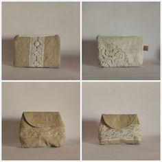 Roxy Creations - vintage pouches - inspration