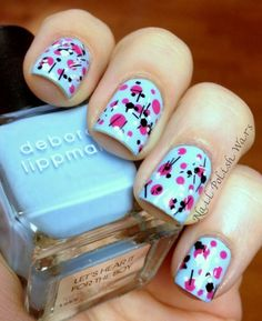 nailpolishwars:    I'm Seeing Spots!  For how to: http://www.nailpolishwars.com/2012/06/im-seeing-spots.html