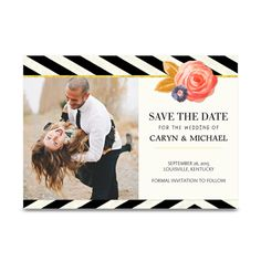 Chic Elegance Save the Date