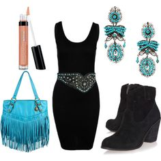 """Cowgirl's Night Out"" by cassidymagazine on Polyvore"