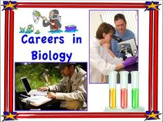 Careers in Biology Set of Mini-Posters For Classroom Display. Free set of 26 mini-posters.