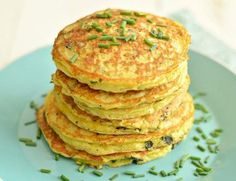 savory zucchini pancakes featured image