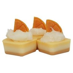Orange Juice Cake Wax Melts Recipe