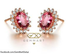 GemMart Jewelry Attractable Pink Topaz Silver Ring Size 6 7 8 9 10 11 12 13 New Fashion Jewelry Engagement