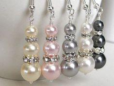 Light Pink Jewelry Light Pink Bridal Jewelry Set Blush