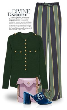 """""""Sep 4th (tfp) 4283"""" by boxthoughts ❤ liked on Polyvore featuring Dries Van Noten, Balmain, MANU Atelier, Prada and tfp"""