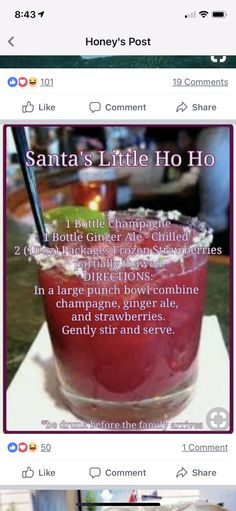 Tequila Rose, Tequila Sunrise, Liquor Drinks, Cocktail Drinks, Cocktail Recipes, Alcoholic Cocktails, Beverage, Christmas Cocktail Party, Christmas Cocktails